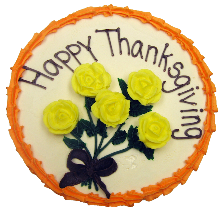 Thanksgiving Cake Traverse City