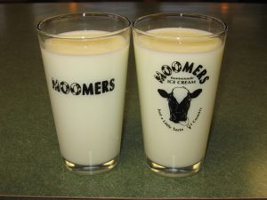 Moomers Milk Glasses